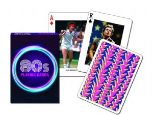 1980s set of playing cards + jokers    (gib)